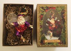 Mark Roberts Sugarplum Fairy Christmas Ornament Retired Small 9in Original Box  #MarkRoberts