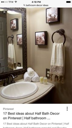 Small Guest Bathrooms, Bathrooms Decor, Bath Ideas, Bathroom Ideas, Bathroom  Designs, Amazing Bathrooms, Interior Designing, Home Design, Decorating  Ideas