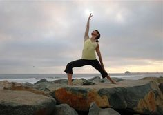 Reverse Warrior---this is nice to do in a vinyasa/flow sequence with triangle and warrior versions.