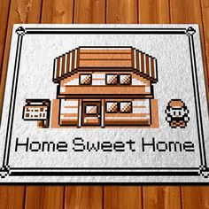 Nothing says home sweet home quite like looking back on the wonderful, simpler times of the classic Pokemon Gameboy games. This non-slip welcome floormat features Red standing at his home in Pallet Town to greet you and your guests.