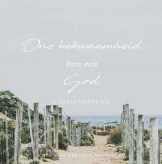 Week 4 - Waarheid Oorwin - Leuens Omtrent Jou  Donderdag - Ek kan nie seker wees oor die dinge waartoe God my geroep het om te doen nie Lees: 2 Korintiërs 3:4-5  SOAP: 2 Korintiërs 3:4-5