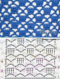 Hexagon Crochet Pattern, Crochet Scarf Diagram, Crochet Baby Blanket Free Pattern, Crochet Stitches Patterns, Crochet Chart, Crochet Patterns Amigurumi, Sweater Knitting Patterns, Crochet Motif, Crochet Lace
