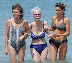 The Duchess of Alba in Ibiza