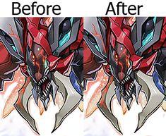 Odd Eyes Raging Dragon Artwork Correction by NewArkantos.deviantart.com on @DeviantArt