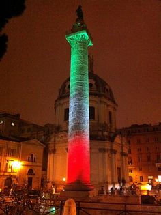 Colonna Traiana in Tricolore