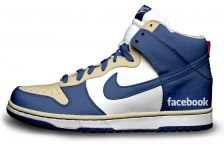 Ok....I know some of you out there are wearing these facebook sneakers....