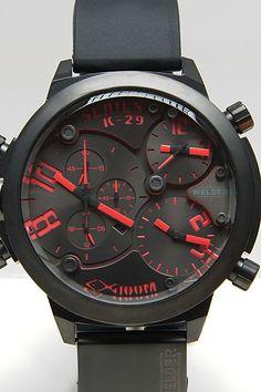 Welder K29 Model 8002 Triple Movement Crono Chronograph Watch