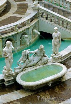 Palermo, fontána di Piazza Pretoria (Itálie)