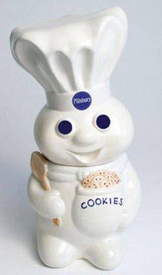 Pillsbury Doughboy Giggling Cookie Jar