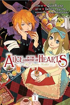 Alice In The Country Of Hearts: My Fanatic Rabbit, Vol. 1, 2012 The New York Times Best Sellers Manga Graphic Books winner, Quinrose #NYTime #GoodReads #Books