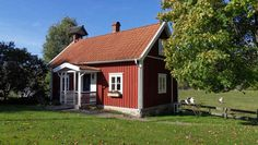 Rönnekula. Nettes Häuschen mit gutem Standard. Urshult, Småland