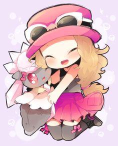 Chibis más leeendas <3 #PokémonXY #KalosQueen