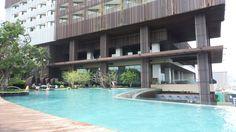 Infinity Pool at the Hilton Pattaya Hotel, Thailand Hotel Thailand, Thailand Travel, Khao Lak, Koh Chang, Koh Tao, Pattaya, Family Travel, Infinity, Island