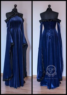 LOVE Prom Dresses Medieval Fantasy dress by Dolores-de-Ville on deviantART Pretty Outfits, Pretty Dresses, Beautiful Dresses, Cool Outfits, Medieval Dress, Medieval Clothing, Medieval Fantasy, Renaissance Dresses, Art Medieval