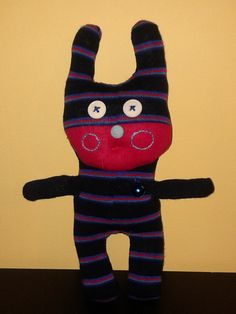 "Xulé 13# The ""Xulés"" are sock puppets made ​​by Oficinas RANHA . All different, andmade with anti - allergic synthetic filling."
