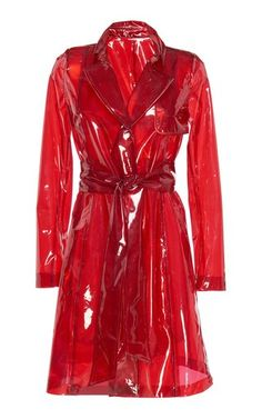 Sheer Gloss Coat by Galvan Fall Winter 2018 Kpop Fashion Outfits, Stage Outfits, Cool Outfits, Womens Fashion, Looks Style, Clothing Items, Aesthetic Clothes, Coats For Women, How To Wear