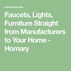 Faucets, Lights, Furniture Straight from Manufacturers to Your Home - Homary Coffee Table Decor Living Room, Sofa Bed Living Room, Decorating Coffee Tables, Living Room Decor, Modern Sofa Table, Faucets, Wood Doors, Chandelier, Fashion Outfits