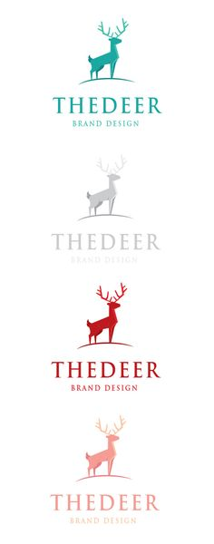 The Deer Logo by goodigital13 on @creativework247