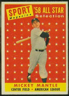1958 Topps Mantle (All-Star)
