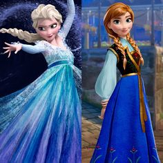 It looks like it might be traditional Norwegian dress for the time period that frozen is set in. I have to say I like Anna's dress better this way<< actually I think it's the concept art dresses Princess Anna Frozen, Frozen Elsa And Anna, Disney Frozen Elsa, Disney Princess, Disney Love, Disney Magic, Disney Art, Jack Frost, Disney And Dreamworks