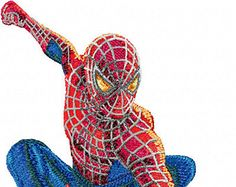 Spiderman Machine Embroidery Design in 4 sizes INSTANT DOWNLOAD