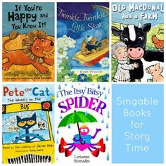 "The Misadventures of a Midwestern Librarian: Story Time Fun / Favorite ""Singable"" Picture Books"