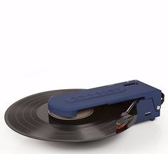 Revolution Portable USB Turntable - Blue + [ Bonus Spotlight LP Included ] #shopifypicks