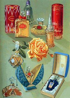USSR posts parfume