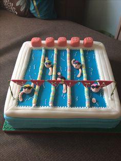 Swimming Cake, Swimming Pools, Computer Cake, Pool Cake, Fondant Cakes, Coffee Cake, Party Cakes, Cake Decorating, Birthday Cake