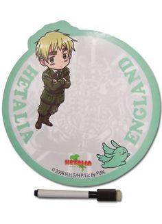 Hetalia Magnetic Memo Board: England $8.70 at RightStuf! #Hetalia #anime #FUNimation