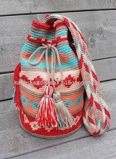 ik zou willen dat ik dit kon maken, maar gelukkig kun je ook hele mooie tassen kopen.