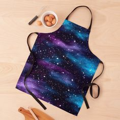"""Starry Sky Galaxy"" Apron by HavenDesign 