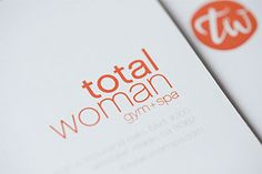 Our brand and identity work with Total Women Gym + Spa Read more about the project here: http://bulldogdrummond.com/blog/?p=5441