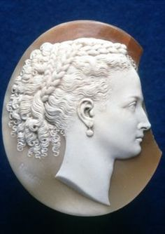 Shell Cameo of Alexandra, Princess of Wales,  c. 1870, Shell. © Trustees of the British Museum.