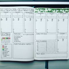 11 Weekly Spread Ideas for your Bullet Journal - How to Bullet Journal