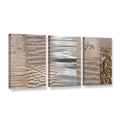 ArtWall Cora Niele's Wind, 3 Piece Gallery Wrapped Set