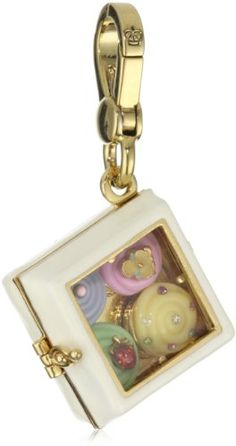 Juicy Couture Gold Box Of Cupcakes Charms ~ is that not just the cutest thing ever?????