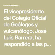El vicepresidente del Colegio Oficial de Geólogos y vulcanólogo, José Luis Barrera, ha respondido a las preguntas de los internautas. Tsunami, Iron, Tsunami Waves