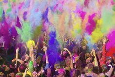 festival des couleurs en Inde