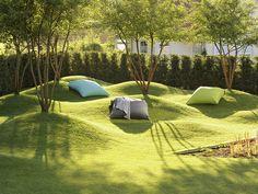 Fresh design ideas for your garden - Entwurf - Landscape design - Shair Landscape Architecture Design, Garden Landscape Design, Urban Landscape, Contemporary Landscape, Modern Landscaping, Backyard Landscaping, Landscaping Design, Urban Park, Parking Design