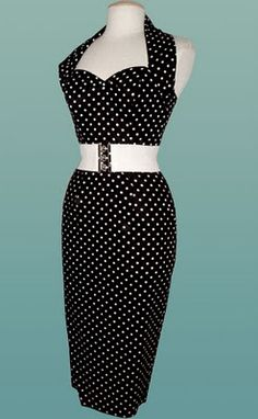 I love this dress! Reminds me of something Lucille Ball would wear
