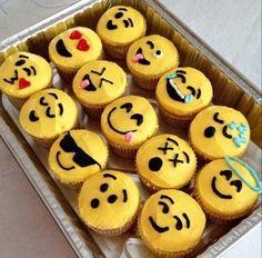 Gâteaux émoticones