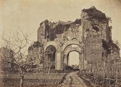 Temple of Minerva Medica, Rome, British, 1856 - 1859
