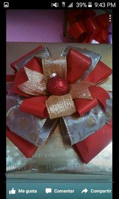 Envoltura  de regalos  de navidad