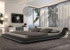 A cool bedroom.