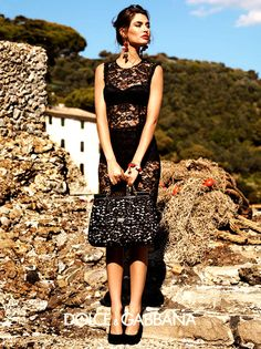 Influence and Stardoll: ♥♥♥ Bianca Balti for Dolce & Gabbana Spring 2012 full Ad Campaign by Giampaolo Sgura