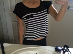 Top    [url]: http://www.vinted.com/sh/clothes/15492638-black-and-white-top-from-charlotte-russe