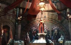 Conception art for Star Wars Land released by Harrison Ford at Disneyland's 60th anniversary