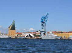 Naval Port of Karlskrona, Sweden.