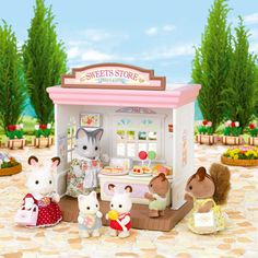 Sylvanian Families are an adorable range of distinctive animal characters with charming and beautiful homes, furniture and accessories. They live, work and play in the idyllic and wonderful land of Sylvania. Play Shop, Fairy Cakes, Animal Rescue Site, Sylvanian Families, Arched Windows, House Of Fraser, Classic Toys, Christmas Wishes, Christmas Picks